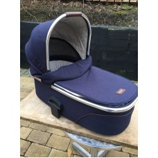 Mamas And Papas Urbo/Sola/Zoom Carrycot Navy Tweed