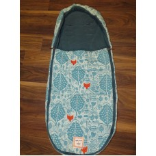 Mamas And Papas Donna Wilson Fox Leaf Footmuff FREE SHIPPING