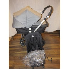 Bugaboo Cameleon 3 Pram Pushchair Grey Melange Travel System