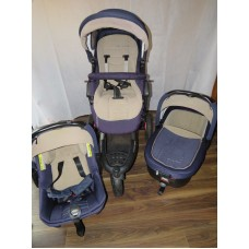 Jane Trider Travel System Full Bundle Strata Capazo Carrycot Car Seat Pushchair