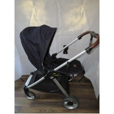Mamas And Papas Armadillo Flip XT Pushchair Navy & Matching Carrycot Pram