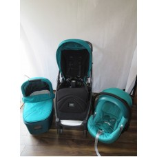 Mamas And Papas Armidillo Flip Travel System Teal Tide