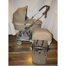 Mamas And Papas Urbo 2 Brown Tweed Pram Pushchair Special Edition
