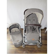Mamas And Papas Urbo 2 Chestnut Tweed Pram Pushchair