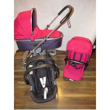 Mamas And Papas Urbo 2 Pink Travel System