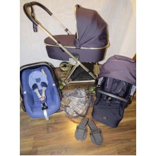 Mamas And Papas Urbo 2 Signature Travel System Twilight Gold