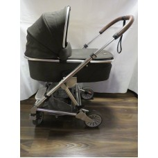 Mamas And Papas Urbo 2 Khaki Tweed Pram Pushchair