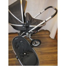 Silver Cross Surf 2 Pram Pushchair Set Black