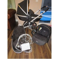Silver Cross Surf 2 Travel System Black