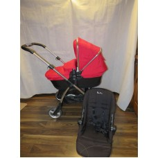 Silver Cross Wayfarer Red Pushchairs Single Seat Stroller